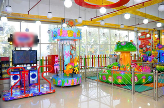 Firm engaged in the manufacture and sourcing of amusement games and rides from abroad.