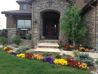 Business providing landscaping and gardening services and currently working with 60+ clients.