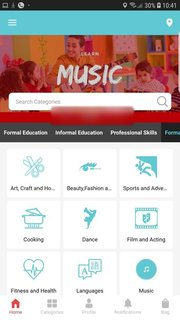 Edu-commerce platform for booking verified, rated & reviewed learning activities, events, seminar, workshops & classes.