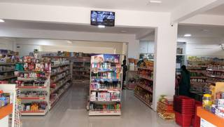Supermarket business in Mysore, receiving 250 daily customers and purchasing from 50 local vendors.