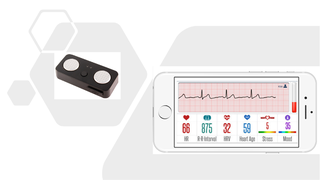 Cardiac monitoring software with streaming ECG app, FDA/CE cleared devices, cloud, and medical reports.