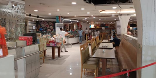 Commercial complex spread on G+3 floors and occupied by Vishal Mega Mart and other corporates.