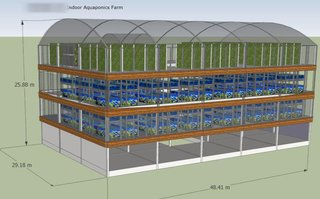 Leading builder of aquariums and aquaculture parks seeks funds for large scale in-house aquaponics factory project.