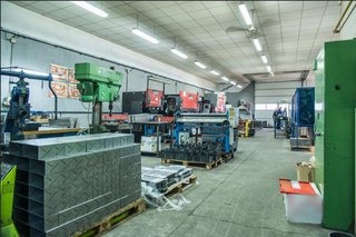 Company that sells industrial machines and does sheet metal production work is for sale.