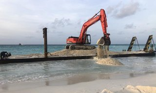 Construction company that undertakes and executes coastal projection projects for private resorts in Maldives.