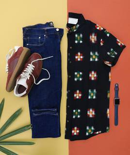 Menswear clothing business selling products through own E-commerce website and in flea markets.