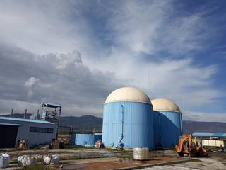 For Sale: 120 kW biogas plant on a land of 5,300 sq mt located in northern Greece.