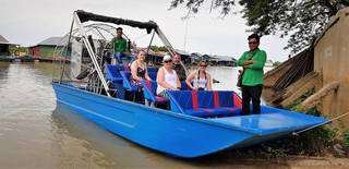 For sale: Air boat tours operator in Krong Siem Reap, Cambodia.