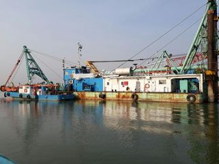 Company executes government river dredging projects, with 5 projects in hand.