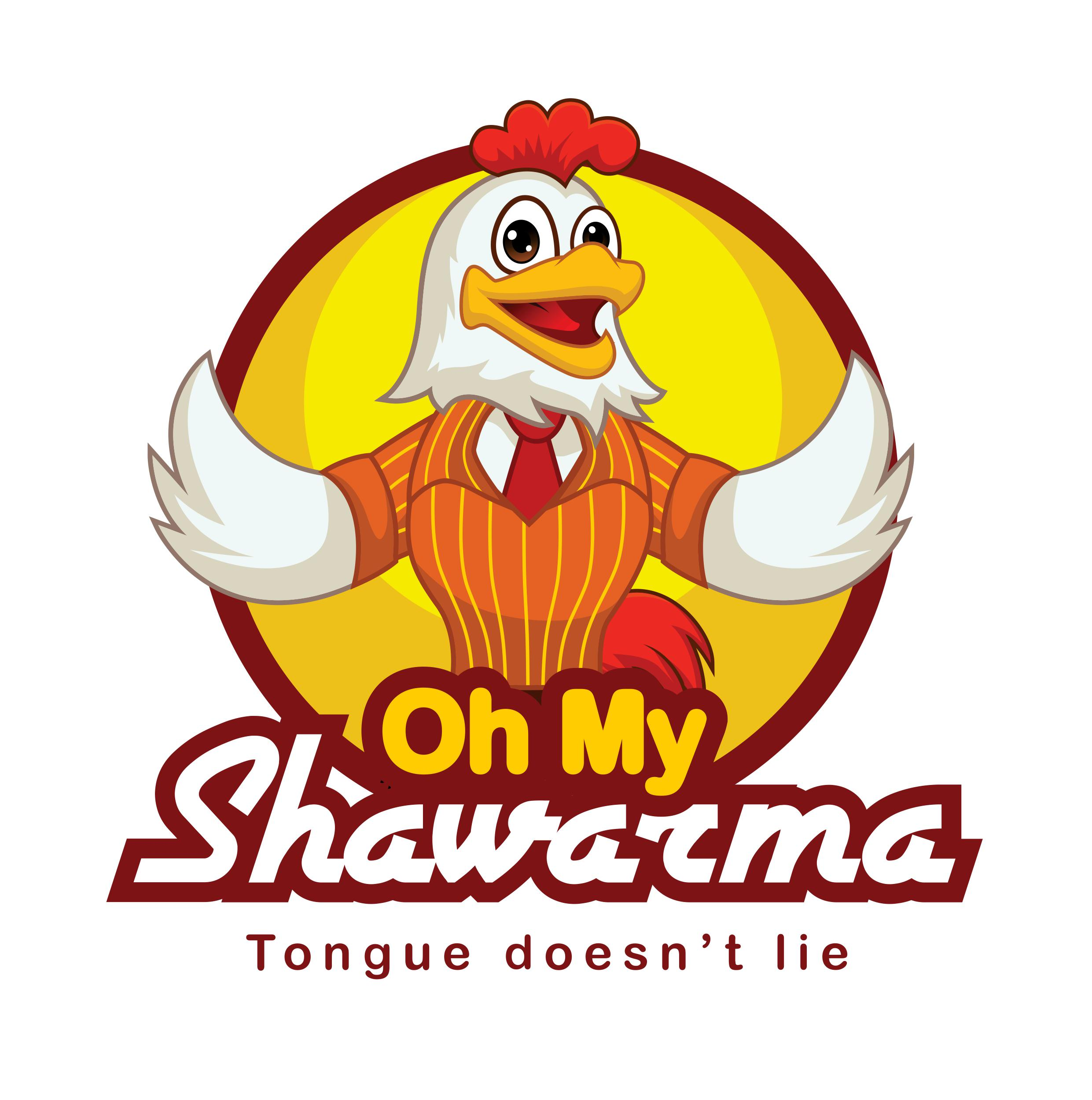 Oh My Shawarma (Eclectic Foods Private Limited) logo