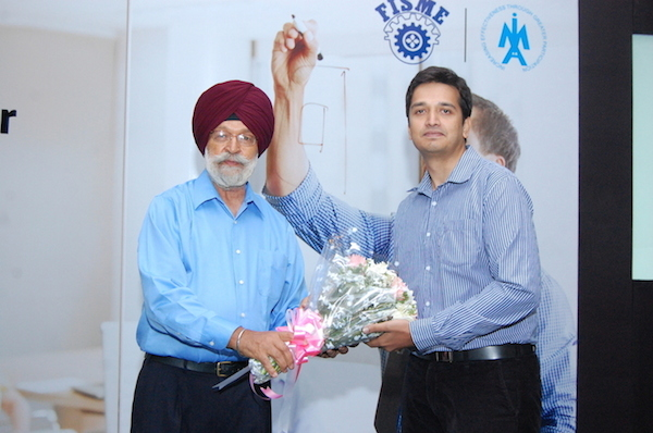 Vishal Devanath, SMERGERS and Mr. Gurkirpal Singh, President, Mohali Industries Association