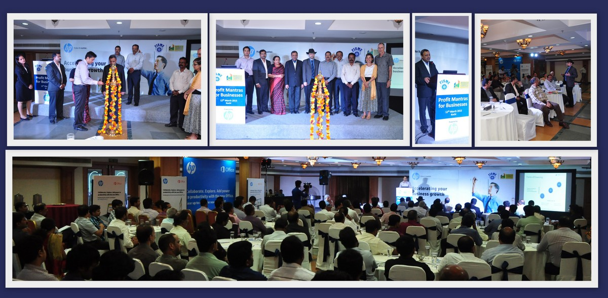 SMERGERS at Profit Mantras for Businesses - Organized by FISME and KCCI